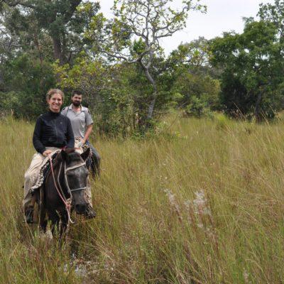 Todavía no habíamos montado a caballo, con lo que el paseo fue interesante por eso, pero faltaron animales