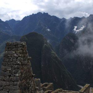 Muchas veces el problema suele ser la niebla de los Andes, que cubre toda la ciudadela y puede incluso llegar a bloquear al 100% la vista