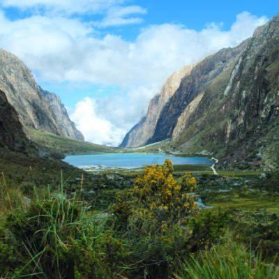 No era sólo las lagunas, el enclave le daba el toque final: la Quebrada de Llanganuco