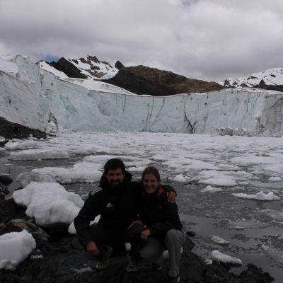 El Glaciar Pastoruri: este gran bloque de hielo
