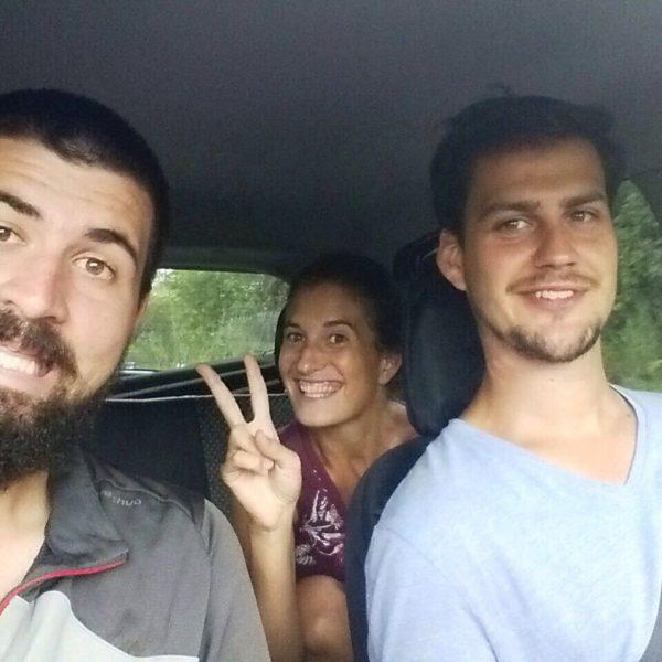 Con Maarten como principal conductor, nos echamos a la carretera