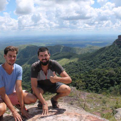 Tuvimos suerte con el tiempo en el Alto do Ceu y pudimos tener estas increibles vistas