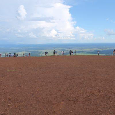La vista panorámica en el Mirante do Centro Geodésico es impresionante