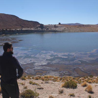 La laguna Cañapa resultó ser la menos bonita de todas, ya que no tenía un color especial, ni estaba rodeada de paisaje diferente