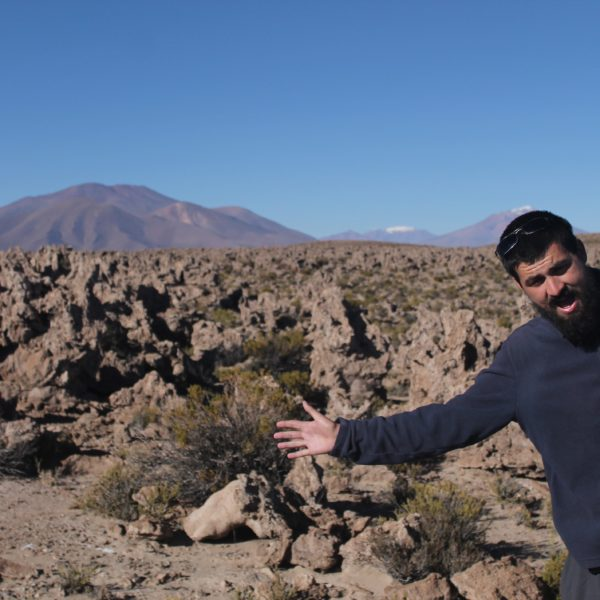 El Valle del Ejército parecen un montón de piedras, pero realmente son montones de algas fosilizadas... O eso es lo que nos dijeron