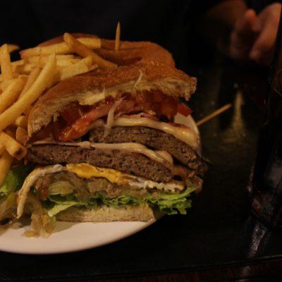 La super hamburguesa canadiense de Nico