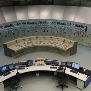 La parte brasileña analógica de la sala de control