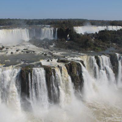Esta parte del lado brasileño era nueva, ya que no se puede ver desde Argentina