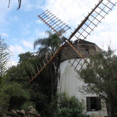 El molino de viento que da nombre al barrio