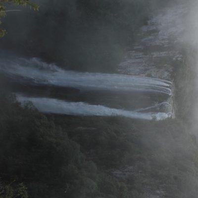 Pero en el segundo sendero había más y mayores cascadas