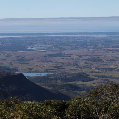 Desde el primer mirador al que fuimos, la vista del otro lado del cañón era yambién muy preciosa, todo el litoral