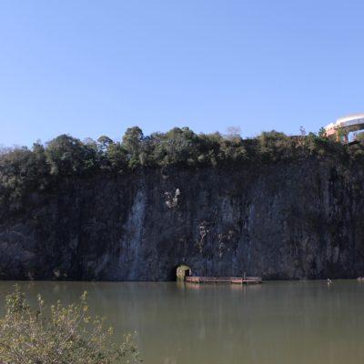 La cantera del Parque Tangua