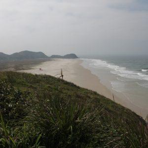 La Praia da Boia estaba prácticamente desierta