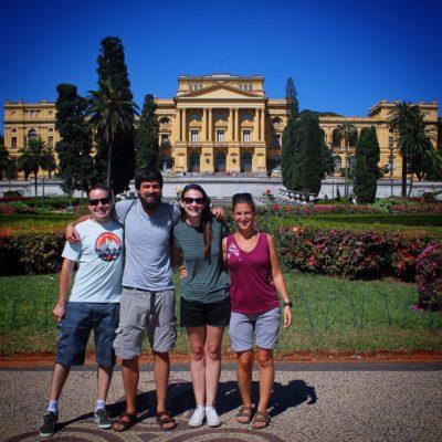 Poder alojarnos en casa de Guilherme y Suellen, cuando apenas los conocíamos de unas horas fue una gran experiencia de amabilidad y espíritu viajero
