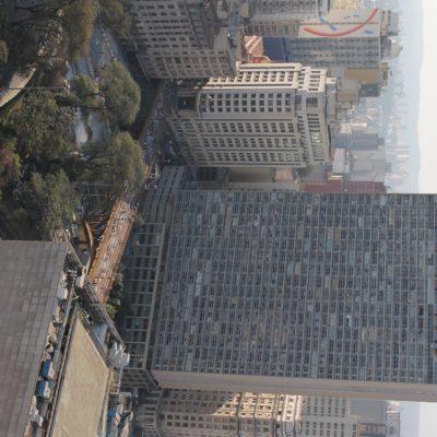 El edificio más alto de São Paulo visto desde el tejado del Martinelli