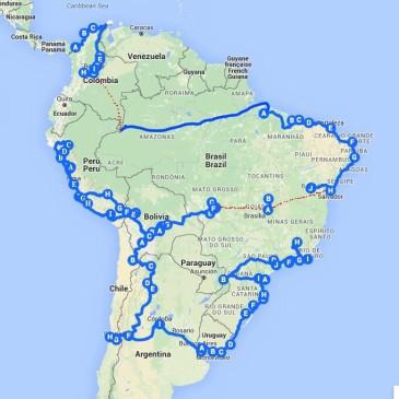 Sudamérica, datos clave