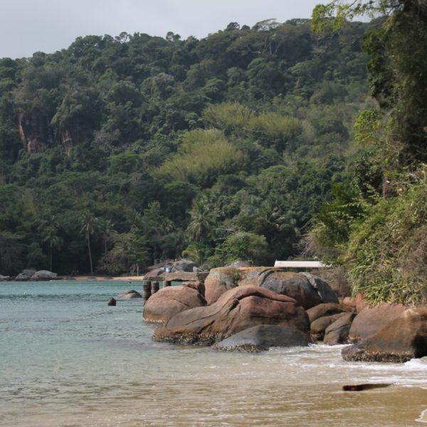 La playa de Mangues estaba dividida en 2 playas, ambas igual de bonitas