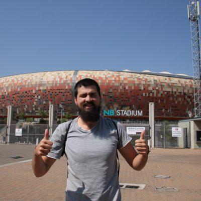El estadio de fútbol de Johannesburgo donde se vivió la final del mundial