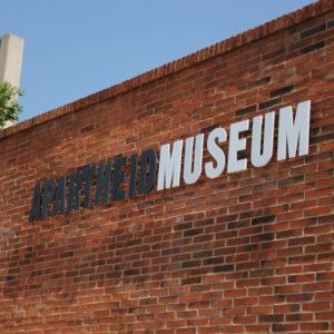 El Museo del Apartheid resultó muy interesante e informativo