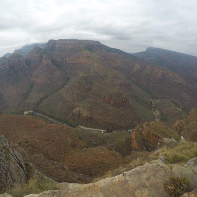 La vista panorámica del cañón Blyde era de los que deja sin respiración