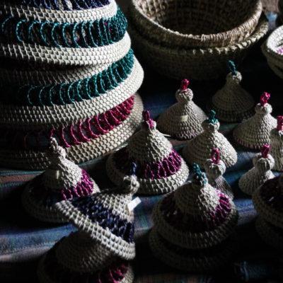 El mekorotlo, sombrero tradicional y símbolo nacional