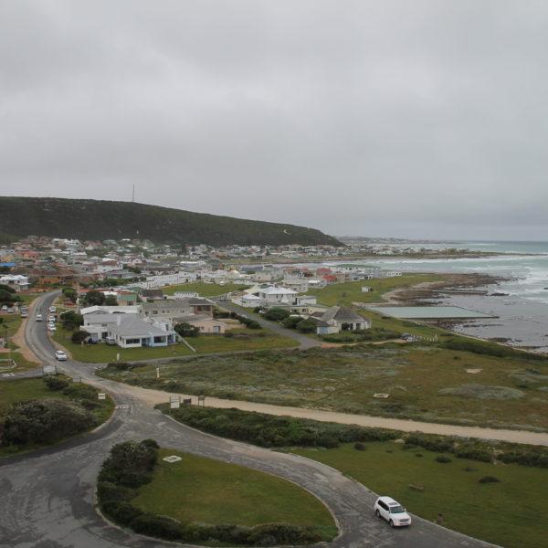 Las vistas del pueblo desde el faro