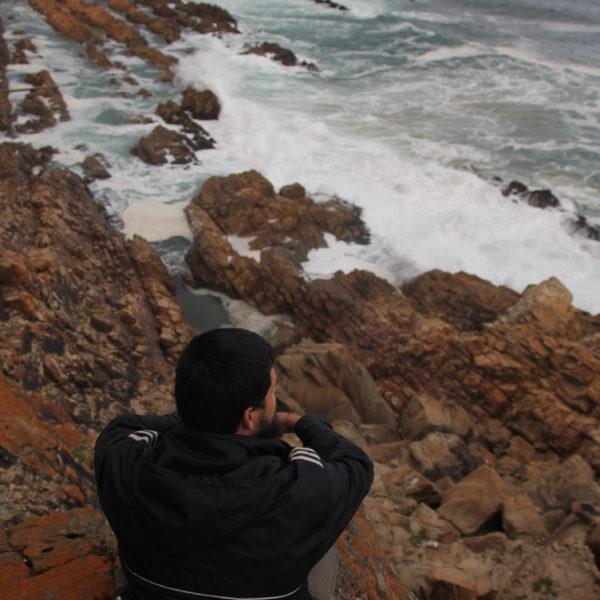 El avistamiento de ballenas es una cosa común en esta zona de la costa