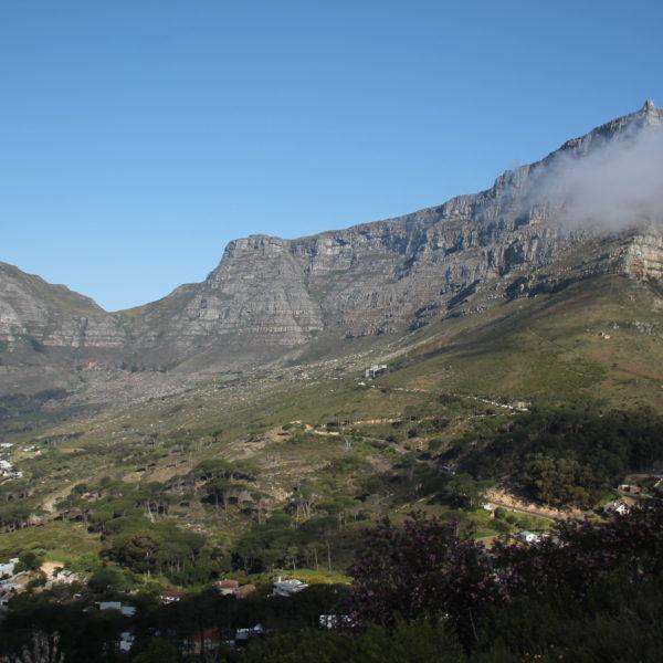 La magníficas vistas de Table Mountain desde la subida al Lion's Head