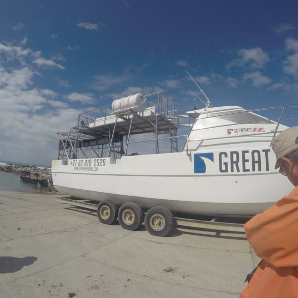 El barco y la jaula con lo que nos adentramos en el mar