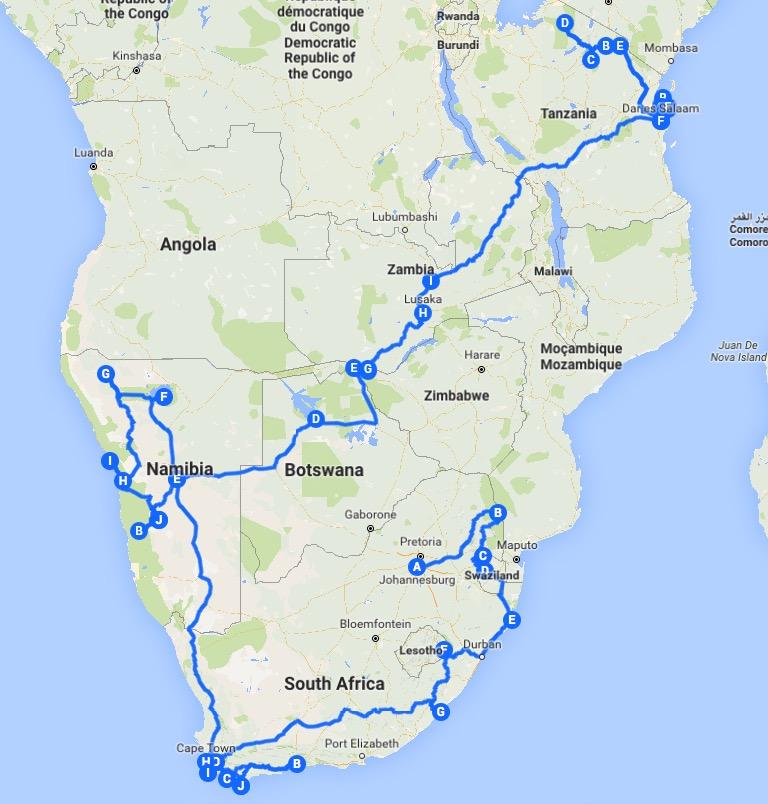 Ruta áfrica