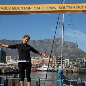 Desde el puerto V&A se tienen bonitas vistas del Table Mountain