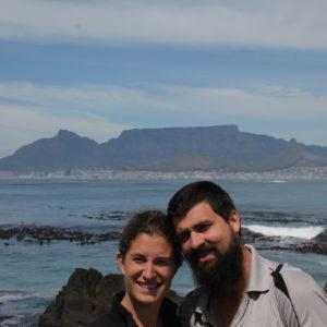 Las vistas de Table Mountain desde la isla Robben dejaban ver la inmensidad de la montaña