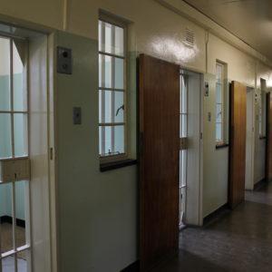 Pudimos ver la celda donde Nelson Mandela estuvo prisionero