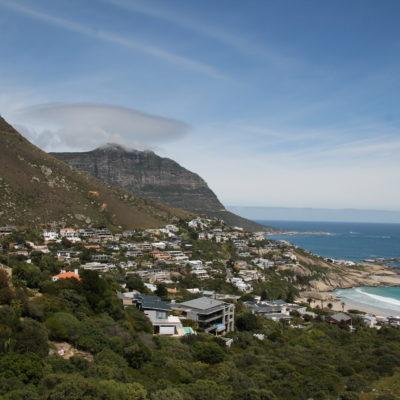 La costa y sus raras nubes