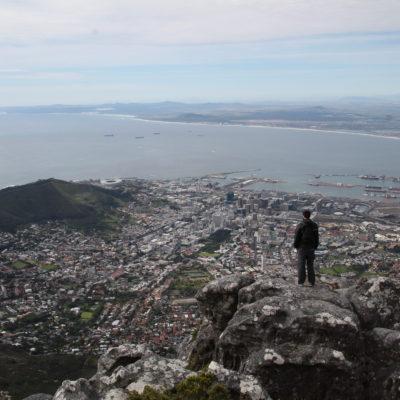 Nico sintiendose el amo de Ciudad del Cabo