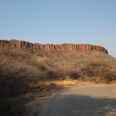 La gran planicie de Waterberg Plateau sobresale en el parque