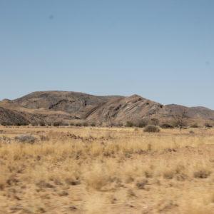 El paisaje que encontramos por el camino fue cambiando de formas y colores