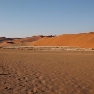 Los intensos y diferentes colores de las dunas