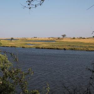 Desde el parque también pudimos tener buenas vistas del río Chobe