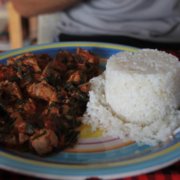 Delicioso cocido de pescado (fish stew)