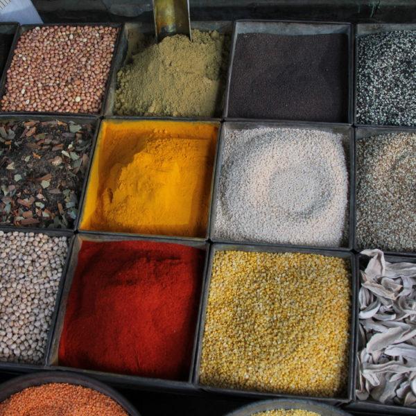Especias, olores, colores...