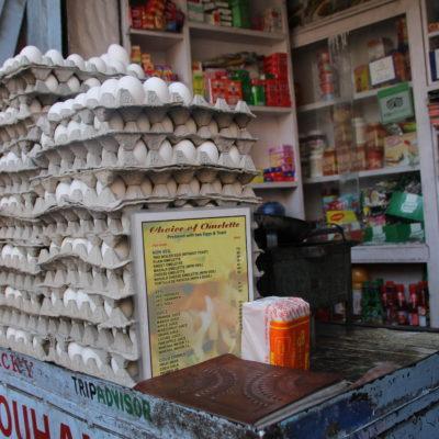 Huevos no le faltaban