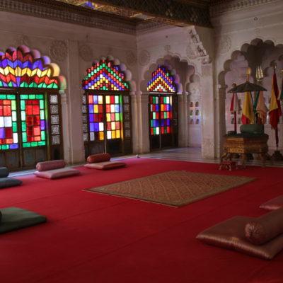 Esta colorida estancia era donde las mujeres se reunían para cotillear, ¿tópico?