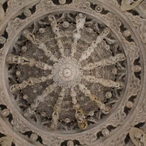 Una de las cosas que más nos llamó la atención eran las cúpulas y su decoración, algunas llenas de detalles