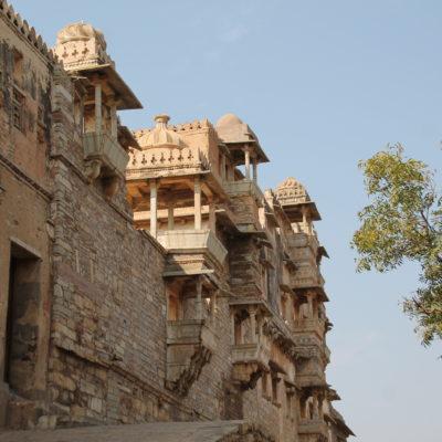 Este palacio fue el encargado de darnos la bienvenida a Chittorgarh
