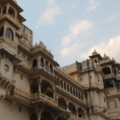 Parte del Palacio de la Ciudad que se puede ver desde el jardín