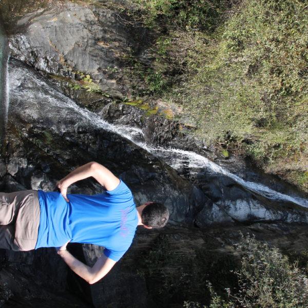 Deducimos que en época de deshielo la cascada Baghsunang será más caudalosa