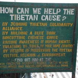 Aquí, cómo se puede ayudar a la causa tibetana