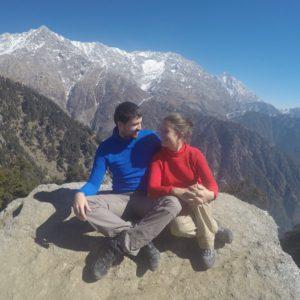 Y por fin la tan merecida recompensa... El pre-Himalaya ante nosotros
