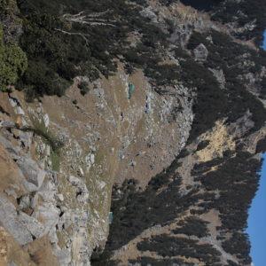 Desde el Triund Hill todavía se puede subir más arriba, hasta la cima de esta subida